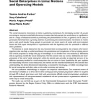 Social enterprises in Lima_concepts and operational models.pdf