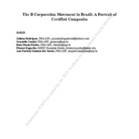 The B Corporation Movement in Brazil_A Portrait of Certified Companies.pdf